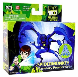 Ben 10 (Ten) Planetary Powder Set Spidermonkey