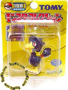 Pokemon Mini PVC Figure #198 Murkrow [Yellow Pack]