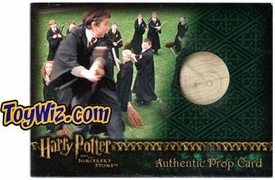 Harry Potter and the Sorcerer's Stone Artbox (2005) Authentic Prop Cards Practice Broom #295/450