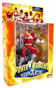 Power Rangers Deluxe Collector Figure In Space Red Ranger