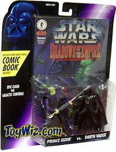 Star Wars POTF2 Shadows of the Empire Prince Xizor vs. Darth Vader