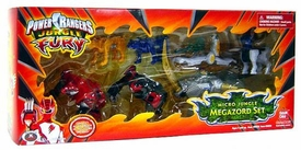 Power Rangers Jungle Fury Micro Jungle Megazord Set