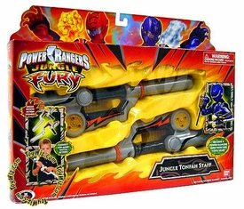 Power Rangers Jungle Fury Roleplay Toy Jungle Tonfah Staff