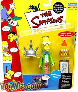 The Simpsons Series 6 Playmates Action Figure Professor Frink