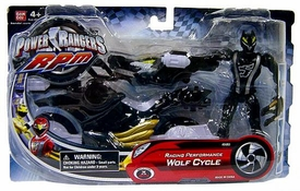 Power Rangers RPM Auxiliary Trax: Racing Performance Vehicle Wolf Cycle
