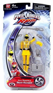 Power Rangers RPM 5 Inch Basic Action Figure Full Throttle Bear Ranger [Yellow]