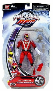 Power Rangers RPM 5 Inch Basic Action Figure Full Throttle Eagle Ranger [Red]