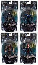 DC Direct Batman Arkham City Series 4 Set of 4 Action Figures [Batman {Black & Gray}, Deadshot, Nightwing & Talia]