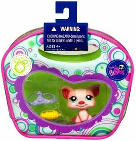 Littlest Pet Shop Purse Carry Case Pig