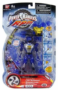 Power Rangers RPM 5 Inch Guardian Action Figure Auxiliary Trax: Lion Guardian