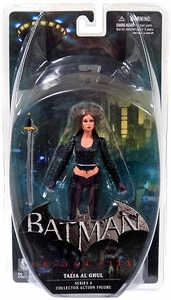 DC Direct Batman Arkham City Series 4 Action Figure Talia