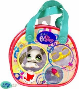 Littlest Pet Shop Purse Carry Case Chinchilla