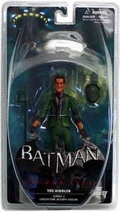 DC Direct Batman Arkham City Series 2 Action Figure Riddler