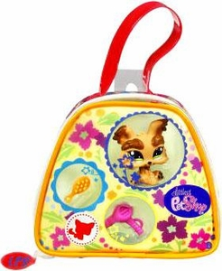 Littlest Pet Shop Purse Carry Case Yorkie
