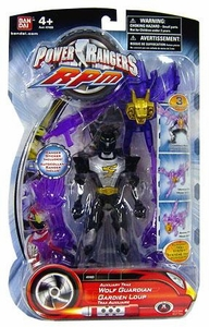Power Rangers RPM 5 Inch Guardian Action Figure Auxiliary Trax: Wolf Guardian