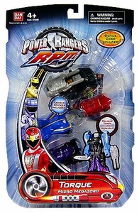 Power Rangers RPM Figure Torque Micro Megazord
