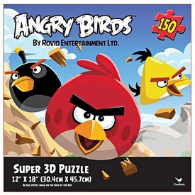 Angry Birds Super 3D Puzzle [150 Pieces!]