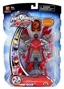 Power Rangers RPM 6.5 Inch Action Figure Moto-Morph Figure Eagle Ranger [Red]