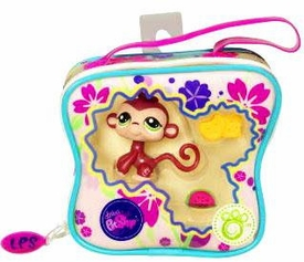 Littlest Pet Shop Purse Carry Case Monkey