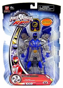 Power Rangers RPM 6.5 Inch Action Figure Moto-Morph Figure Lion Ranger [Blue]