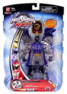 Power Rangers RPM 6.5 Inch Action Figure Moto-Morph Figure Wolf Ranger [Purple]