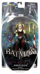 DC Direct Batman Arkham City Series 1 Action Figure Harley Quinn