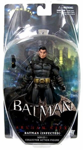 DC Direct Batman Arkham City Series 1 Action Figure Batman (Infected)