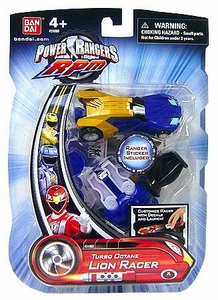 Power Rangers RPM Turbo Octane Zord Blue Lion Racer