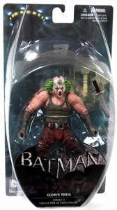 DC Direct Batman Arkham City Series 3 Action Figure Clown Thug [Green Hair]