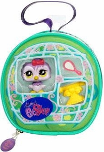 Littlest Pet Shop Purse Carry Case Owl