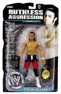 WWE Wrestling Ruthless Aggression Series 37 Action Figure Colin Delaney
