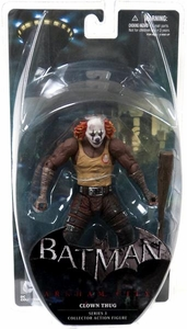 DC Direct Batman Arkham City Series 3 Action Figure Clown Thug [Orange Hair]