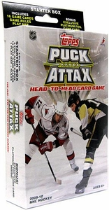 Topps 2009 Puck Attax NHL National Hockey League Starter Box