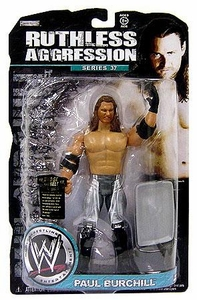 WWE Wrestling Ruthless Aggression Series 37 Action Figure Paul Burchill