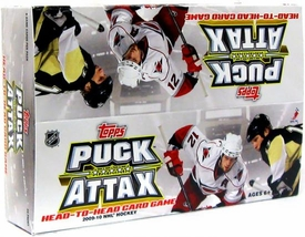 Topps 2009 Puck Attax NHL National Hockey League Booster Box [24 Packs]