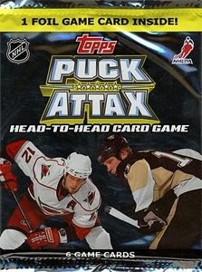 Topps 2009 Puck Attax NHL National Hockey League Booster Pack