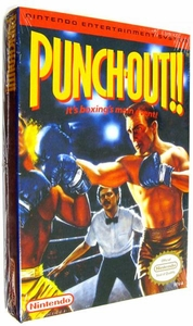Nintendo Entertainment System NES Factory Sealed Cartridge Game Punch-Out!!