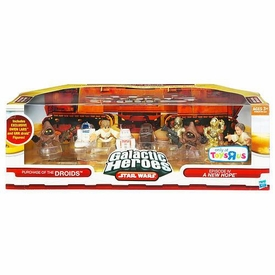 Star Wars Galactic Heroes Exclusive Deluxe Cinema Scene Mini Figure Multi Pack Purchase of the Droids