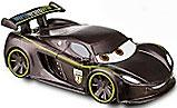 Disney / Pixar CARS 2 Movie 1:55 PVC Plastic LOOSE Car Lewis Hamilton [Wheels Do NOT Spin!]