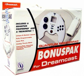 SEGA Dreamcast Controller Quantum Fighterpad Bonuspak