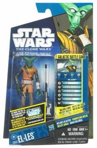 Star Wars 2011 Clone Wars Action Figure CW No. 47 El-Les
