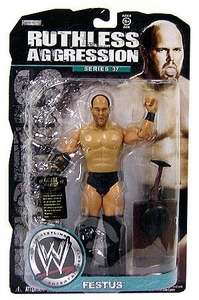 WWE Wrestling Ruthless Aggression Series 37 Action Figure Festus
