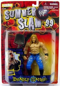 WWF Wrestling Action Figure Summer Slam '99 Deadly Games Edge