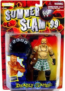 WWF Wrestling Action Figure Summer Slam '99 Deadly Games Droz