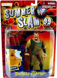 WWF Wrestling Action Figure Summer Slam '99 Deadly Games Kurgann