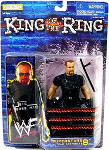 Jakks Pacific WWF King of the Ring Series 8 Superstars Action Figure Big Boss Man