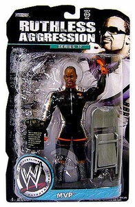 WWE Wrestling Ruthless Aggression Series 37 Action Figure MVP