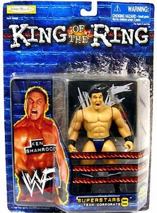 Jakks Pacific WWF King of the Ring Series 8 Superstars Action Figure Ken Shamrock