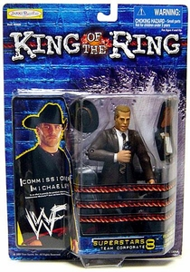 Jakks Pacific WWF King of the Ring Series 8 Superstars Action Figure Commissioner (Shawn) Michaels BLOWOUT SALE!
