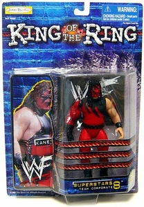 Jakks Pacific WWF King of the Ring Series 8 Superstars Action Figure Kane